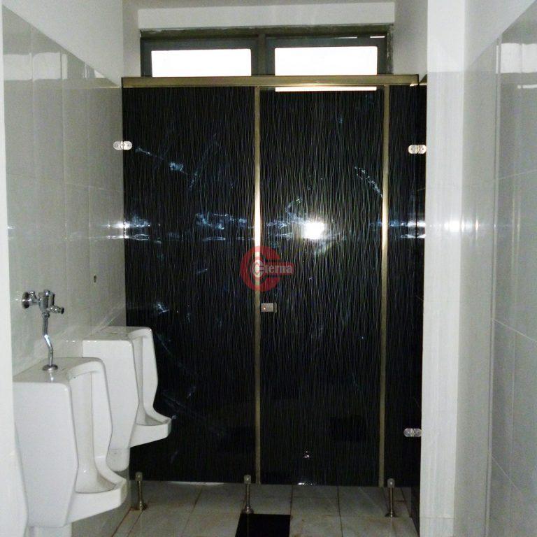 Wooden toilet cubicle jogja